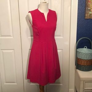 Andrew Marc New York Hot Pink dress